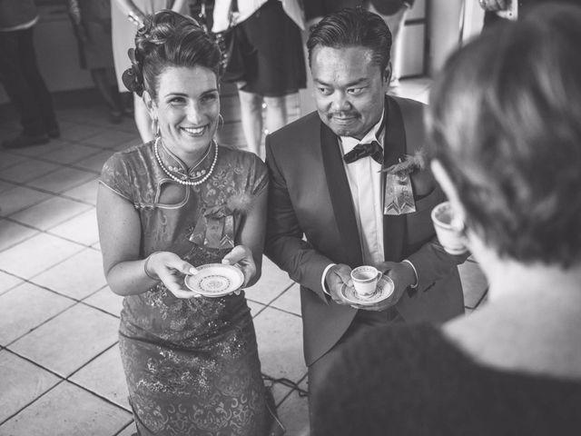 Le mariage de Pang Thai et Elodie à Pacé, Ille et Vilaine 12