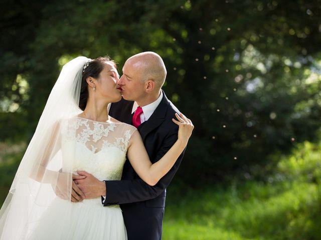 Le mariage de Min et Simon
