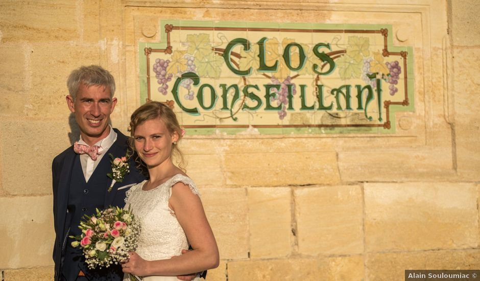 Le mariage de Xavier et Clotilde à Cubzac-les-Ponts, Gironde