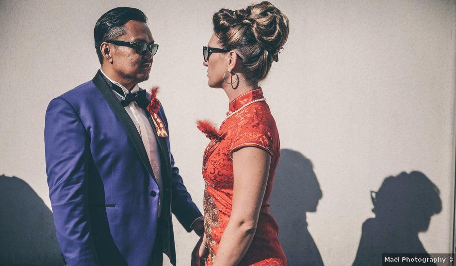 Le mariage de Pang Thai et Elodie à Pacé, Ille et Vilaine