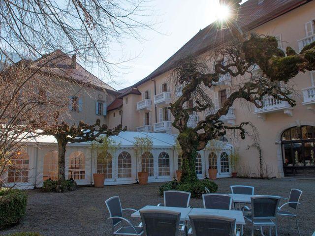Le mariage de William et Laurie à Talloires, Haute-Savoie 9