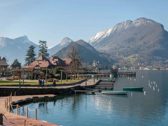 Le mariage de William et Laurie à Talloires, Haute-Savoie 10
