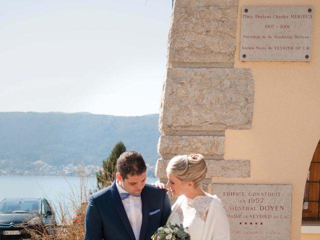 Le mariage de William et Laurie à Talloires, Haute-Savoie 26
