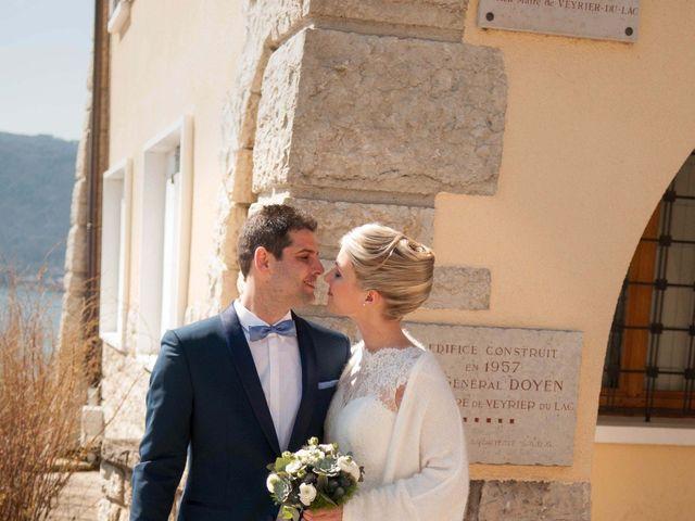 Le mariage de William et Laurie à Talloires, Haute-Savoie 27