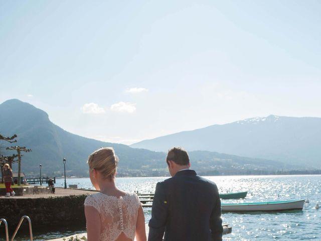 Le mariage de William et Laurie à Talloires, Haute-Savoie 41
