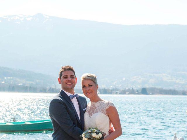 Le mariage de William et Laurie à Talloires, Haute-Savoie 43