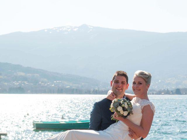 Le mariage de William et Laurie à Talloires, Haute-Savoie 45