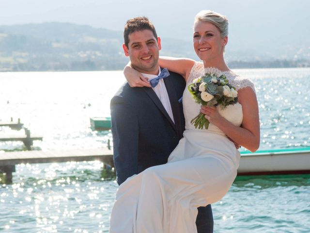 Le mariage de William et Laurie à Talloires, Haute-Savoie 46