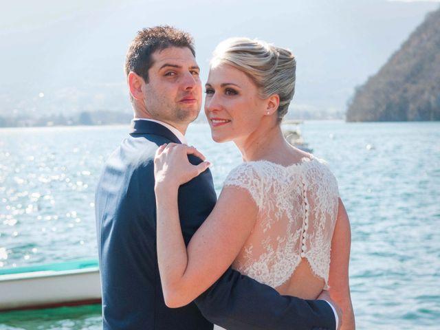 Le mariage de William et Laurie à Talloires, Haute-Savoie 50