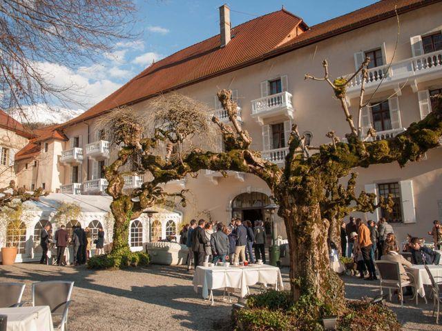 Le mariage de William et Laurie à Talloires, Haute-Savoie 56
