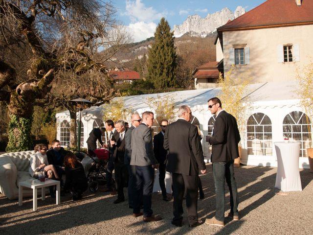 Le mariage de William et Laurie à Talloires, Haute-Savoie 62