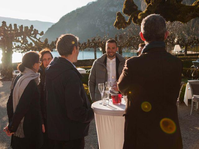 Le mariage de William et Laurie à Talloires, Haute-Savoie 63