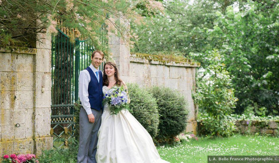 Le mariage de James et Anna à Goudourville, Tarn-et-Garonne