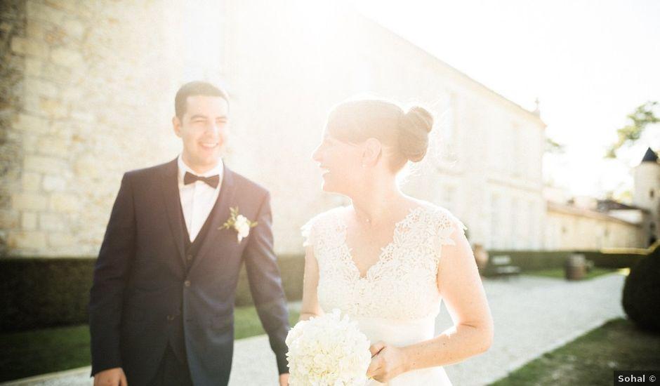 Le mariage de Antoine et Claire à Lignan-de-Bordeaux, Gironde