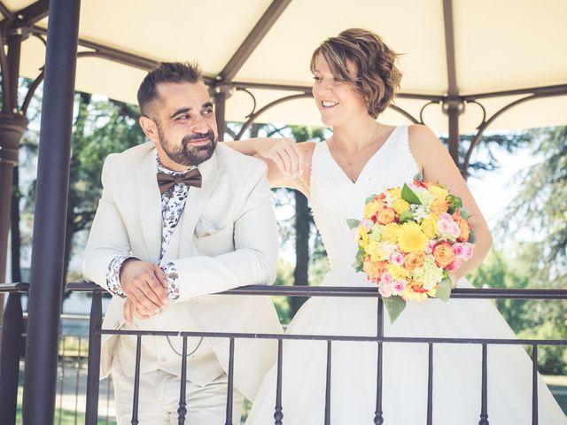 Le mariage de Michael et Aurélie à Villebois, Ain 8