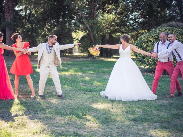 Le mariage de Michael et Aurélie à Villebois, Ain 16