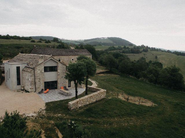 Le mariage de Thibault et Camille à Sévérac-le-Château, Aveyron 2