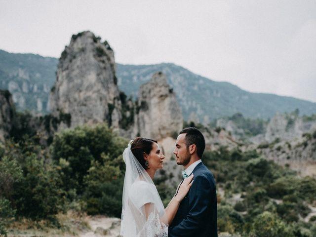 Le mariage de Thibault et Camille à Sévérac-le-Château, Aveyron 60