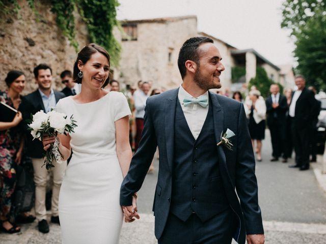 Le mariage de Thibault et Camille à Sévérac-le-Château, Aveyron 76