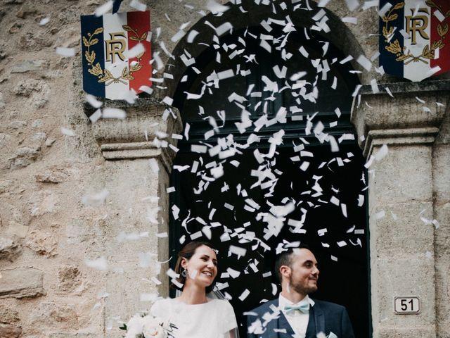 Le mariage de Thibault et Camille à Sévérac-le-Château, Aveyron 79