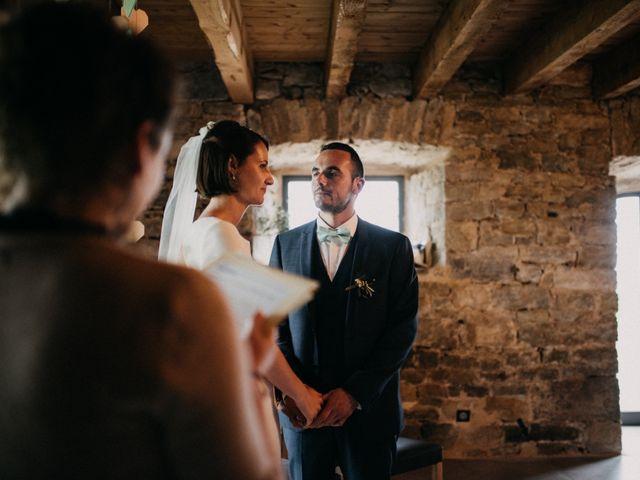 Le mariage de Thibault et Camille à Sévérac-le-Château, Aveyron 87