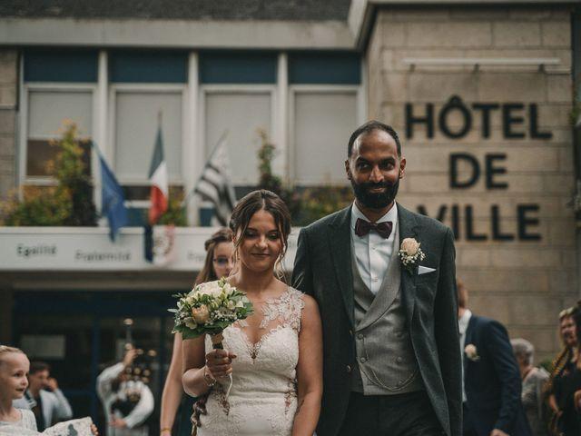 Le mariage de Prem et Hélène à Quimper, Finistère 53