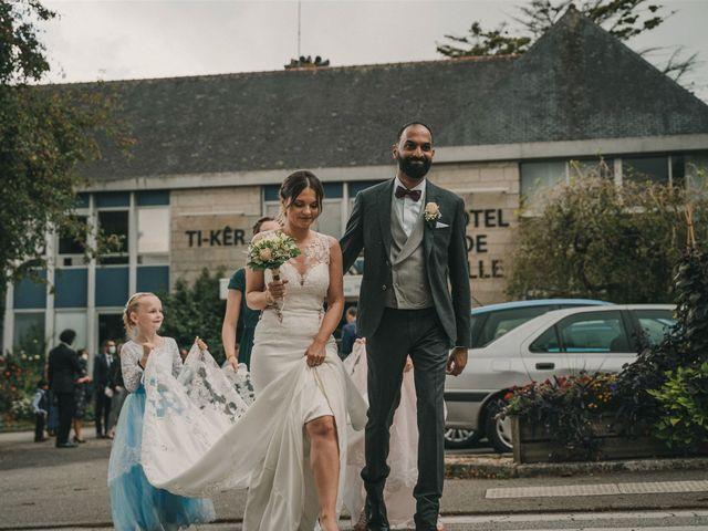 Le mariage de Prem et Hélène à Quimper, Finistère 54