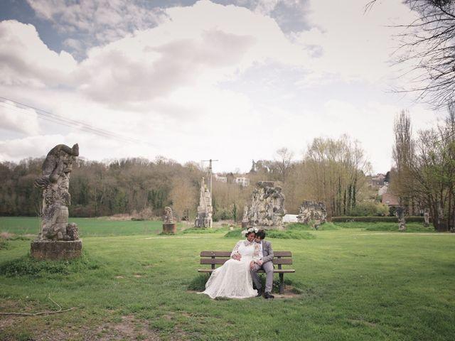 Le mariage de Bertrand et Jazz à Chessy, Seine-et-Marne 62