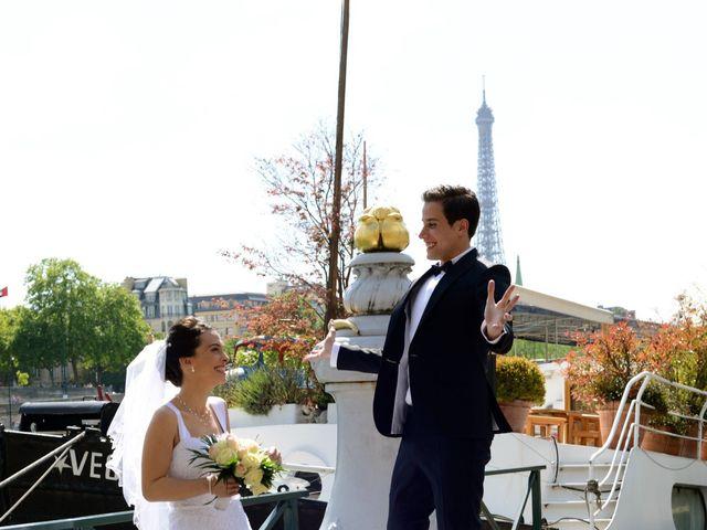 Le mariage de Houcine et Lilia à Saint-Denis, Deux-Sèvres 3