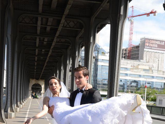 Le mariage de Houcine et Lilia à Saint-Denis, Deux-Sèvres 15