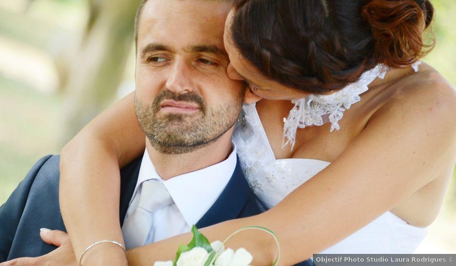 Le mariage de Raphaël et Carène à Saint-Étienne-sur-Chalaronne, Ain