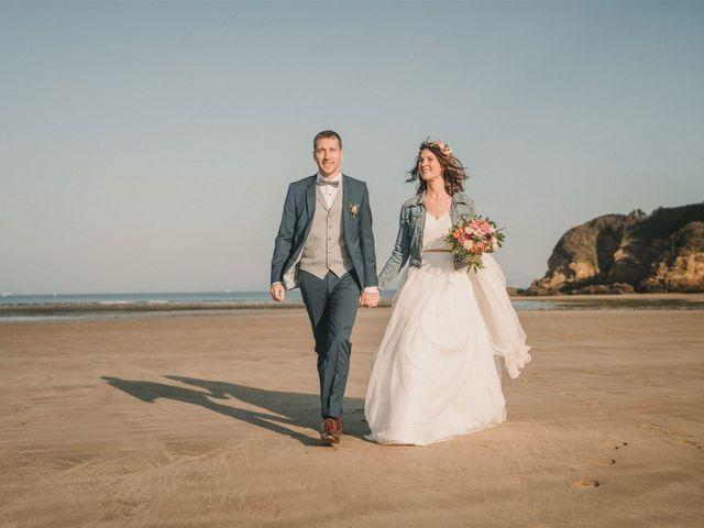 Le mariage de Mickael et Marine à Douarnenez, Finistère 53