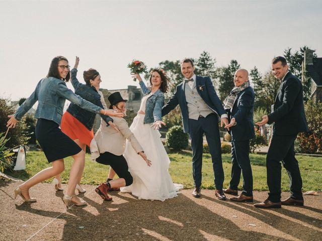 Le mariage de Mickael et Marine à Douarnenez, Finistère 69