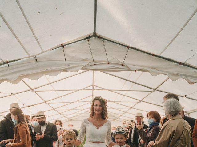 Le mariage de Mickael et Marine à Douarnenez, Finistère 86