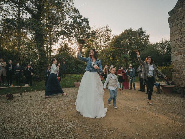 Le mariage de Mickael et Marine à Douarnenez, Finistère 136