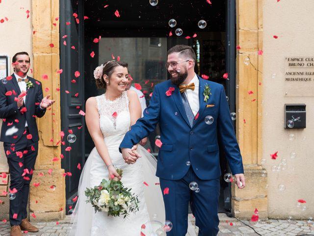 Le mariage de Thibaud et Alison à Vaux-en-Beaujolais, Rhône 12