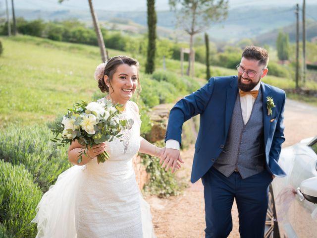 Le mariage de Thibaud et Alison à Vaux-en-Beaujolais, Rhône 16
