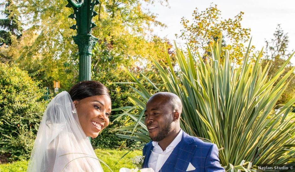 Le mariage de Charles et Begga à Gagny, Seine-Saint-Denis