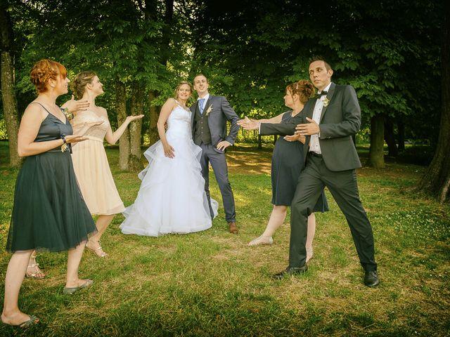 Le mariage de Clément et Amandine à Beuvillers, Calvados 24