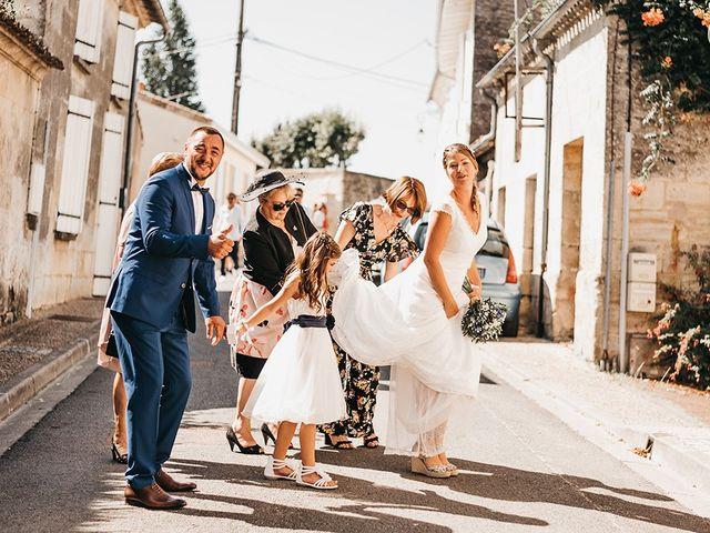 Le mariage de Yannick et Valérie à Aubie-et-Espessas, Gironde 40