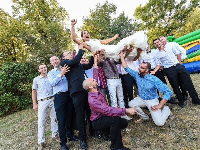 Le mariage de David et Marine à Pont-de-Pany, Côte d'Or 74