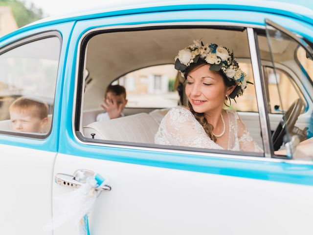 Le mariage de Julien et Aurélie à Cadouin, Dordogne 26