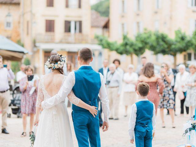 Le mariage de Julien et Aurélie à Cadouin, Dordogne 27