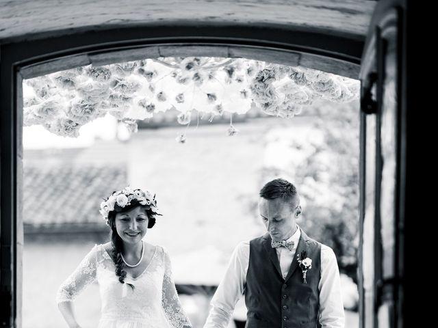 Le mariage de Julien et Aurélie à Cadouin, Dordogne 31