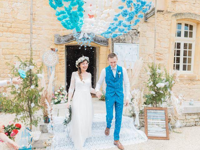 Le mariage de Julien et Aurélie à Cadouin, Dordogne 47