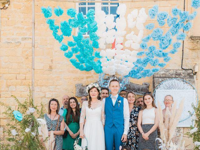 Le mariage de Julien et Aurélie à Cadouin, Dordogne 53