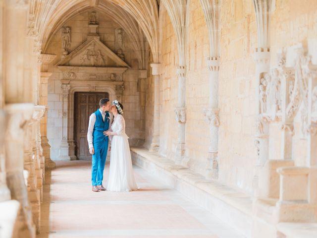 Le mariage de Julien et Aurélie à Cadouin, Dordogne 61