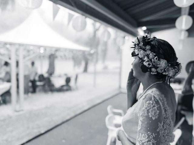 Le mariage de Julien et Aurélie à Cadouin, Dordogne 88