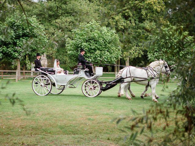 Le mariage de Eddy et Cristelle à La Boissière-École, Yvelines 27