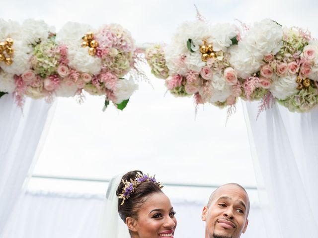 Le mariage de Eddy et Cristelle à La Boissière-École, Yvelines 56